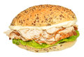 Fresh Chicken And Lettuce Sandwich Royalty Free Stock Photo