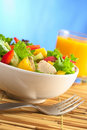 Fresh Chicken Salad Stock Photography