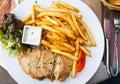 Fresh chicken steak Stock Photo