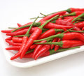 Fresh chilis Royalty Free Stock Photo