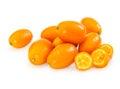 Fresh citrus kumquat Royalty Free Stock Photo