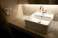 Fresh and clean washbasin Stock Image