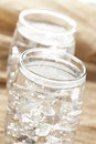 Fresh Clear Water in a glass Royalty Free Stock Image