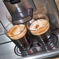 Fresh coffee Stock Photography