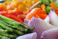 Fresh colorful vegetables Stock Photo
