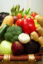 Fresh colorful vegetables Royalty Free Stock Image
