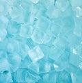 Fresh cool blue ice cube background Royalty Free Stock Photo