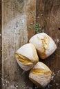 Fresh crusty bread rolls Royalty Free Stock Photo