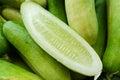 Fresh cucumber sliced Royalty Free Stock Photo