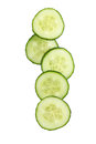 Fresh Cucumber Slices Royalty Free Stock Photo