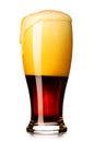 Fresh dark beer Royalty Free Stock Photo