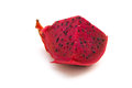 Fresh dragon fruit on a white background Royalty Free Stock Image