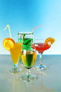 Fresh drink cocktail Royalty Free Stock Images