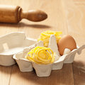 Fresh Egg Tagliatelle Royalty Free Stock Images