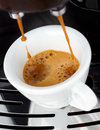 Fresh Espresso coffee Royalty Free Stock Photo