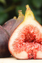 Fresh fig closeup Royalty Free Stock Photo