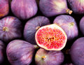 Fresh figs fruit as background Royalty Free Stock Images
