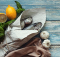 Fresh fish for cooking Royalty Free Stock Photo