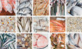 Fresh fishes Royalty Free Stock Photography