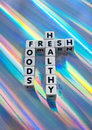 Fresh foods are healthy Royalty Free Stock Photography