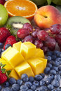 Fresh Fruit Antioxidant Stock Image