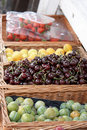 Fresh Fruit Display Royalty Free Stock Photo