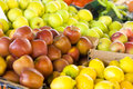 Fresh fruit market Royalty Free Stock Photos