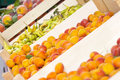 Fresh fruit market Stock Images