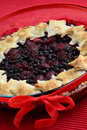 Fresh fruit pie dessert Stock Image