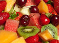 Fresh Fruit Platter Royalty Free Stock Photo