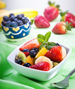 Fresh fruit salad Royalty Free Stock Photography