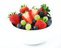 Fresh fruit salad mix Royalty Free Stock Photo