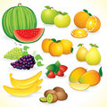 Fresh Fruits Stock Image