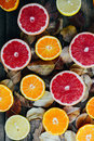 Fresh fruits. Mixed fruits background. Healthy eating, dieting. Background of healthy fresh fruits. Fruit salad - diet, healthy br Royalty Free Stock Photo