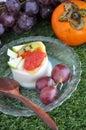 Fresh Fruits Pudding Royalty Free Stock Photo