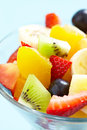 Fresh fruits salad see my other works in portfolio Stock Images