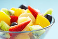 Fresh fruits salad see my other works in portfolio Royalty Free Stock Images