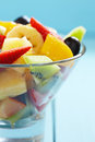 Fresh fruits salad see my other works in portfolio Stock Image