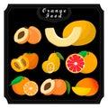 The fresh fruits