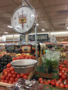 Fresh fruits and vegetables for sale at store Sprouts