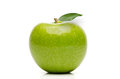 Fresh Granny Smith Apple Royalty Free Stock Photo