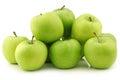 Fresh Granny Smith apples Royalty Free Stock Photo