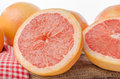 Fresh grapefruits Royalty Free Stock Photo