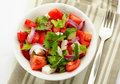 Fresh Greek Salad Stock Images