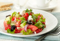 Fresh Greek Salad Stock Image