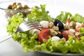 Fresh Greek salad Royalty Free Stock Photography