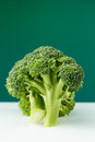 Fresh green broccoli close up Stock Photo