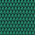 Fresh green leaf pattern illustrations