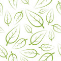 Fresh green leafs texture Stock Photo