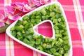 Fresh green paprika Royalty Free Stock Photo